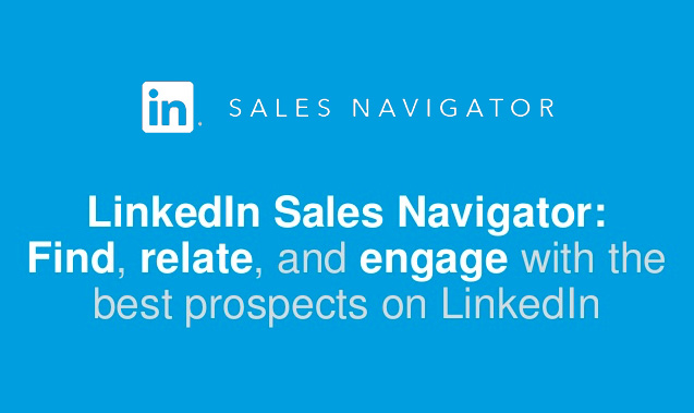 Linkedin Sales Navigator | Gianni Simonato